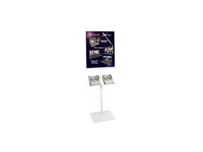 Observe Grand Heavy Duty Pedestrian Info Center | Trade Show Accessories