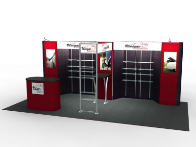 Trade Show Displays | FF-202 Flat Panel Displays