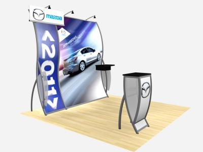 RE-1011 Mazda Perfect 10 w/ Graphics | Display Rentals