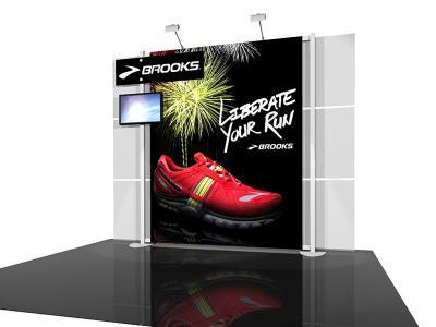 RE-1018 ESmart Brooks w/ Graphics | Display Rentals