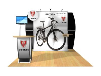 VK-1513 Nina Perfect 10 Hybrid | Trade Show Displays