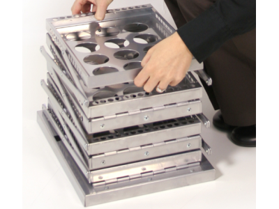 Trade Show Accessories | Zed Up Silver Literature Stand