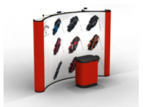 10 Ft Pop Up Displays w/4 Photo Murals | Pop Up Display