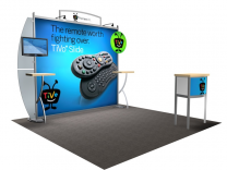VK-1209 Trade Show DIsplay | Sacagawea Tension Fabric Display