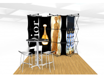 Xpressions Connex 10x10 Pop Up Displays Kit E | Trade Show Displays