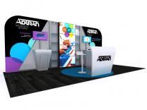Custom Modular Hybrid Displays | DM-1048 20 Ft Visionary Designs