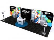 Custom Modular Hybrid Displays | DM-1049 30 Ft Visionary Designs