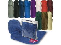 Promotional Giveaway Gifts & Kits | Deluxe Plush Blanket