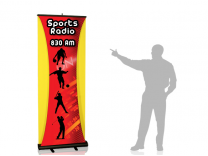 Layered Banner Stand | Retractable Banner Stand