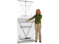 MediaScreen 2 Retractable Banner Stand | Banner Stand