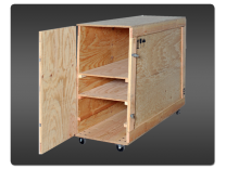 Large Panoramic Crate | Tension Fabric Displays