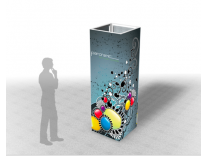 Panoramic Towers | Tension Fabric Displays