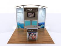 VK-1053 10 Ft Visionary Designs Hybrid Exhibit | Trade Show Displays