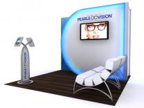 VK-1116 Hybrid Inline 10 Ft Visionary Designs | Trade Show Displays