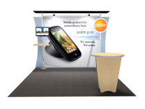 VK-1230 Sacagawea Tension Fabric Displays | Trade Show DIsplays