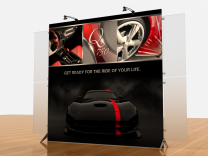 Tension Fabric Displays | VK-1905 Segue Sunrise