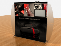 Tension Fabric Displays | VK-1907 Segue Sunrise