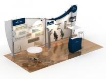 VK-2937 20 Ft Visionary Designs | Trade Show Displays