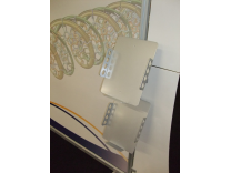 ZB-221 Slanted Metal Brochure Holder | Sacagawea Displays