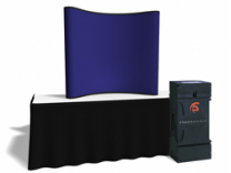 6 Ft Fabric Table Top | Trade Show Displays by ShopForExhibits