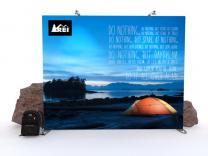 Fabric Backdrop Displays   Trade Show Displays by ShopForExhibits