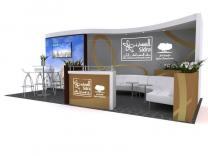 20 Foot Display Rentals | Trade Show Displays