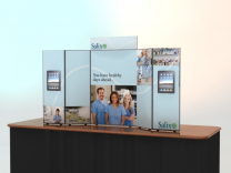 Flat Panel Table Top Displays | Trade Show Displays by ShopForExhibits
