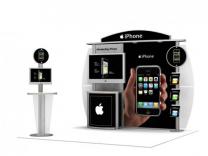 10 Foot Visions Display | Visions Custom Modular Hybrid Displays