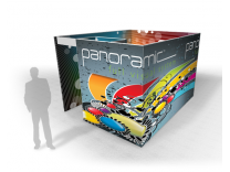 Panoramic Graphic System| Tension Fabric Displays