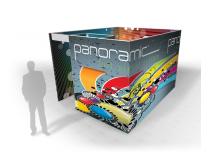 Panoramic Graphic System| Tension Fabric Displays