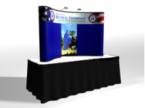 Quadro Pop Up Table Top Display | Trade Show Displays by ShopForExhibits