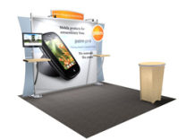 10 & 20 Ft Sacagawea Displays | Trade Show Displays by ShopForExhibits