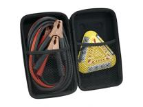 Promotional Giveaway Gifts & Kits | 6 LED Emergency Flasher and Jumper Cable Set