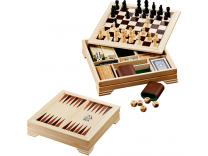 Promotional Giveaway Gifts & Kits | Lifestyle 7-In-1 Desktop Game Set