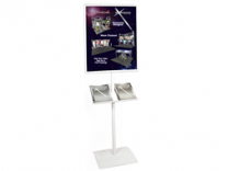 Observe Grand Heavy Duty Pedestrian Info Center | Trade Show Accessories