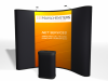 Pop Up Display | 10 Ft Economy Pop Up Display with 2 Photo Murals