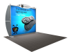 VK-1202 Sacagawea Tension Fabric Displays | Trade Show Displays