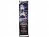 Quickscreen 3 - 19.7 in Retractable Banner Stands | Banner Stands