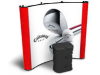 8 ft. Quadro with 3 photo murals | Pop Up Displays
