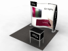 VK-1077 Magellan MOR | Trade Show Displays