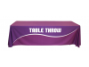 Dye Sublimation Printed Table Throws | Trade Show Display Accessories