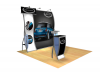 Elsa - Perfect 10 Trade Show Displays | Custom Modular Hybrid  Displays