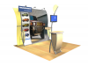 Juno- Perfect 10 Trade Show Displays | Custom Modular Hybrid Displays