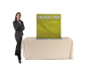 SilverStep 36 Inch Banner Stand Table Top