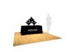 Pop Up Table Top Display | 3 Quad Kit E SalesMate