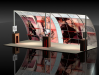 Custom Modular Hybrid Displays | VK-2012 - 20 Ft Visionary Designs