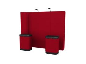 10 Ft Kit 2 Straight Frame Pop Up Displays | Pop Up Display