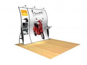 Bella - Perfect 10 Trade Show Displays | Custom Modular Hybrid Displays