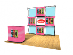 Pop Up Table Top Display | Express Kit B