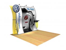 Perfect 10 Trade Show Displays| Custom Modular Hybrid Displays